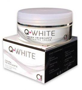 q white crème éclaircissante