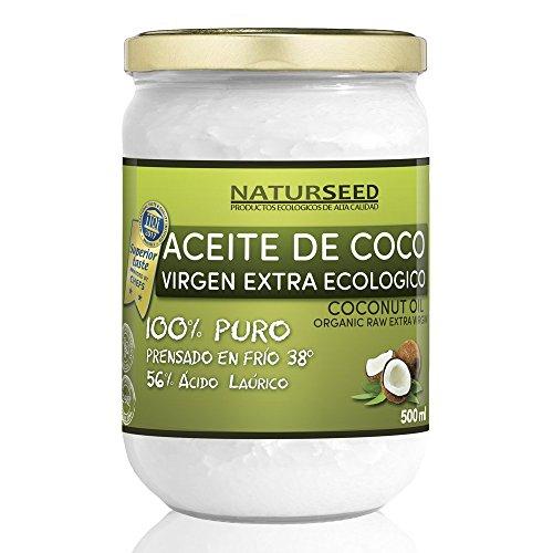 Naturseed - Huile de noix de coco extra vierge biologique...