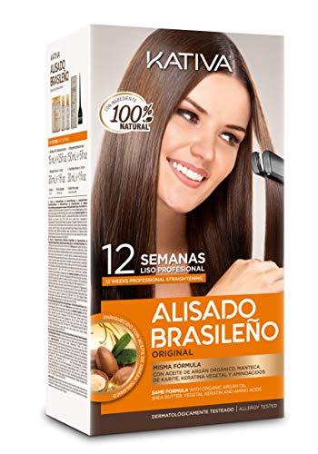 Kativa Alisado Brasileiro - Avec Kératine, Argan et...